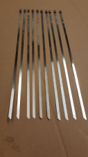 STAINLESS STEEL CABLE TIES (10)